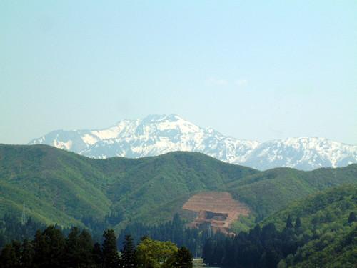 5月の八海山